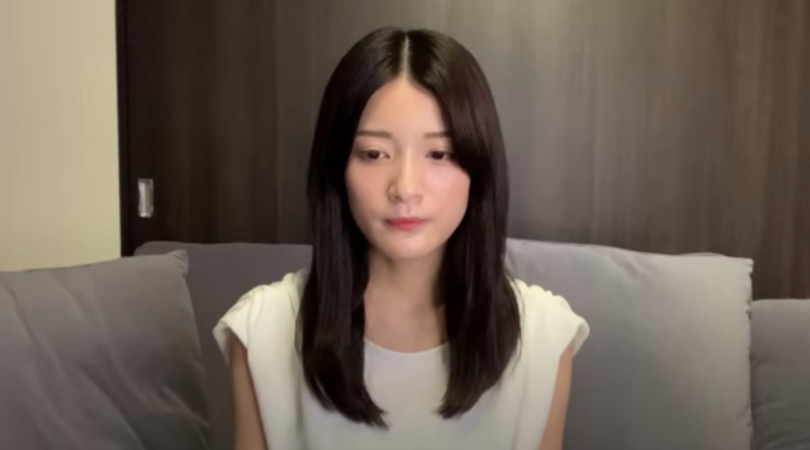 元欅坂46・織田奈那 YouTubeに過去の熱愛スキャンダルを認めて謝罪動画を投稿に関する画像